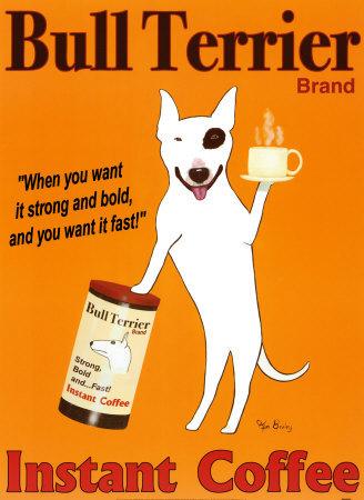 "растворимый кофе ""Бультерьер"" / ""Bull Terrier"" Instant Coffee"