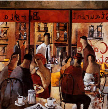 "Дидье Лоуренко, ""Кафе Нью Йорк"" / Didier Lourenco, Cafe New York"