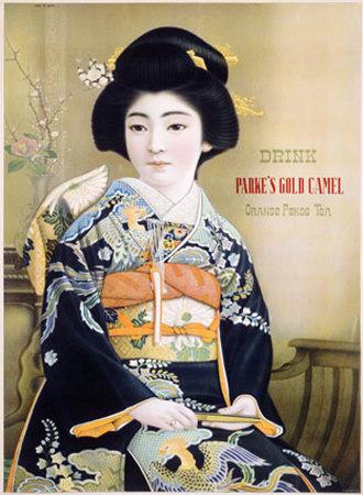 poster Parke's Gold Camel / Orange Pekoe tea