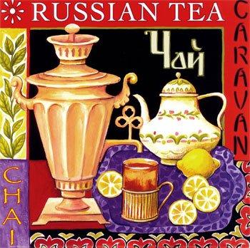 постер Русский чай / poster Russian Tea