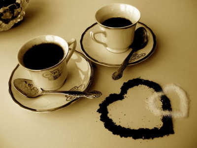 любовь и кофе - навсегда