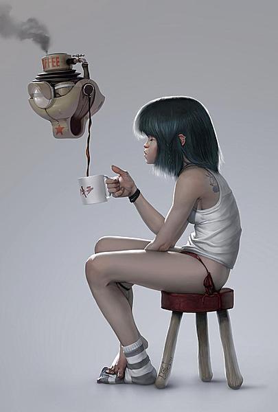 кофеварка из будущего