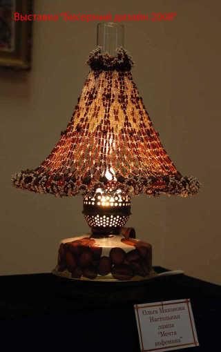 Лампа кофемана, автор Ольга Махонова