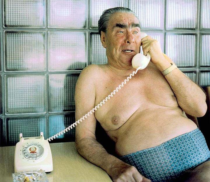 Леонид Ильич Брежнев (редкое фото)