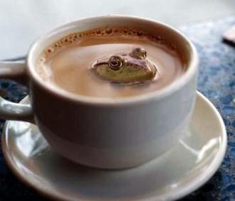 кофейная ванна :)