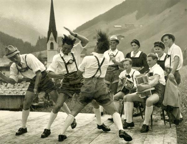 rammstein народный немецкий танец