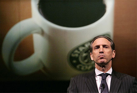Howard Schultz \ Говард Шульц, владелец сети кофеен Старбакс / Starbucks