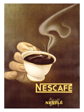 Nescafe old poster