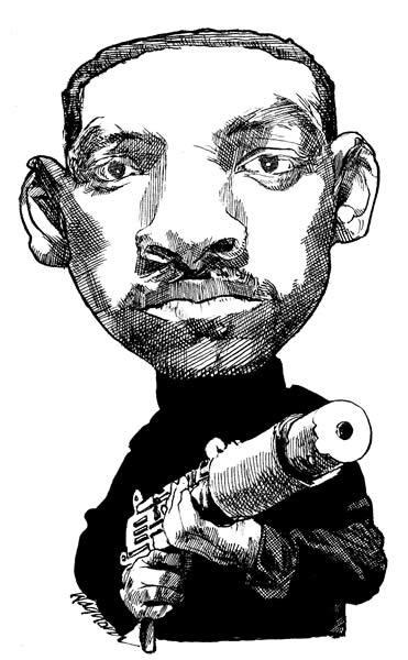 карикатура Уилл Смит Will Smith