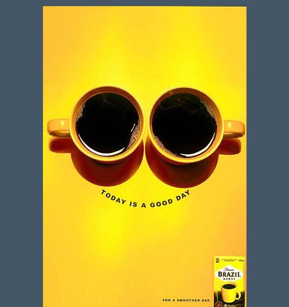 кофе постер / a coffee poster Brazil