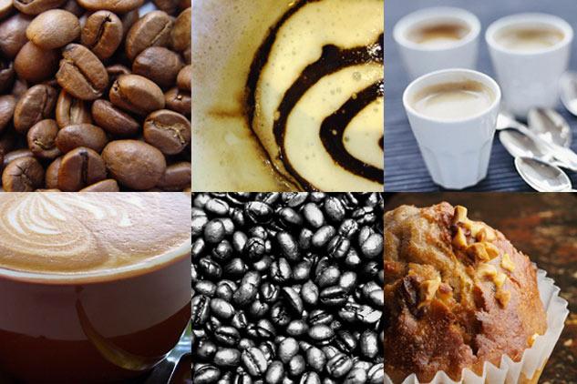 фото коллаж кофе