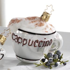 "елочная игрушка / чашка с кофе ""Каппуччино"""