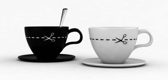 чашка для кофе с молоком от Ignacio Pilotto