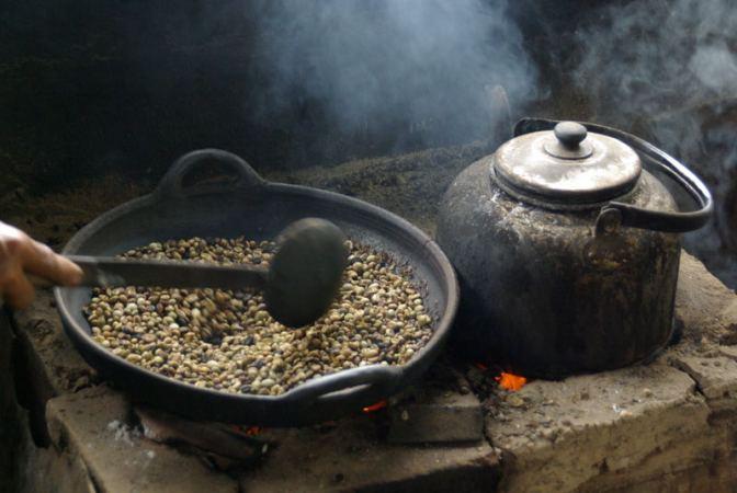 кофе из Африки / робуста