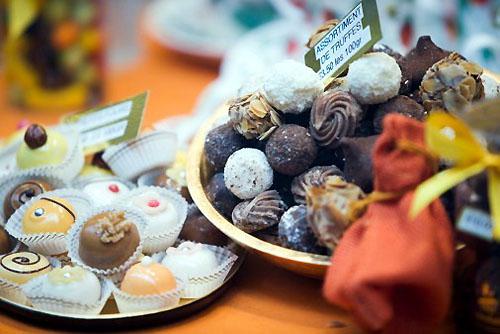 шоколадные конфеты ручной работы / Бельгия