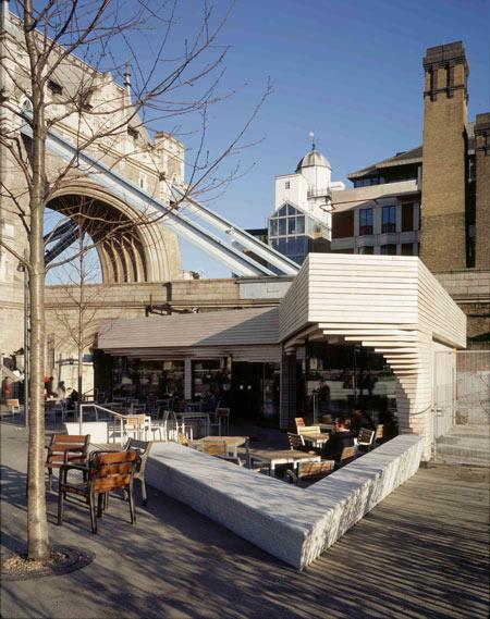 необычные кафе в Лондоне