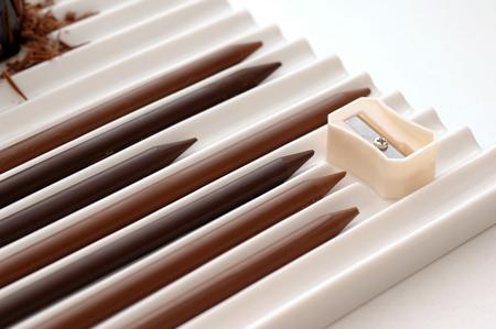 карандаши из шоколада