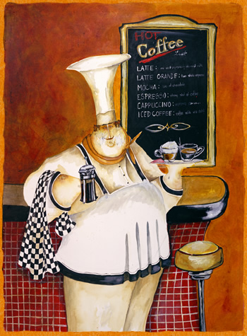 горячий кофе на любой вкус \ Дженифер Гарант (Jennifer Garant)