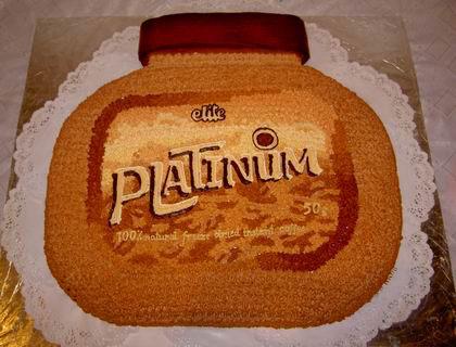 торт в виде банки кофе