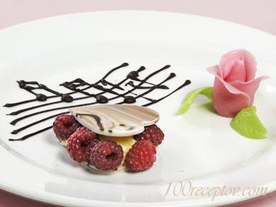 """кофейный десерт """"Роза"""""""