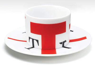 дизайнерская чашка из Ginza Creation Gallery в Токио