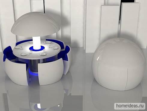 дизайн кафе будущего