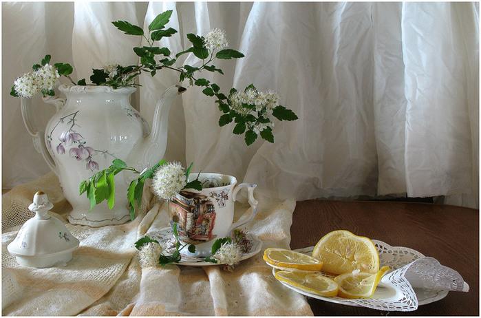 цветочный кофе / фотонатюрморт, Ирина Быкова