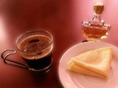 кофе с кленовым сиропом