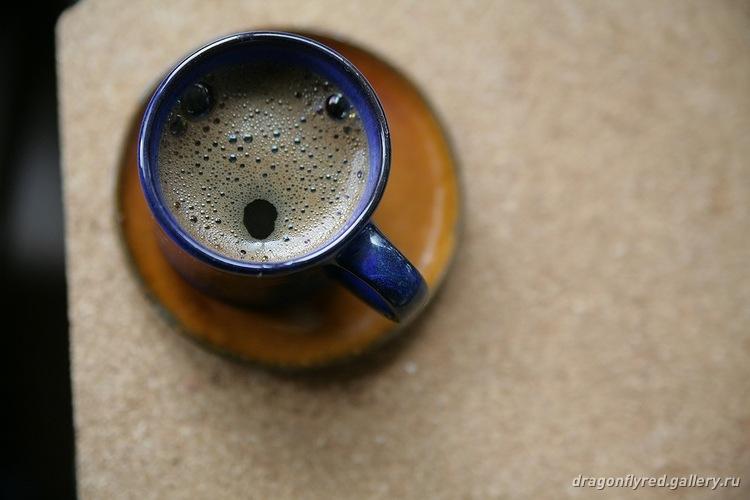 смайлик на кофе кофе: удивление