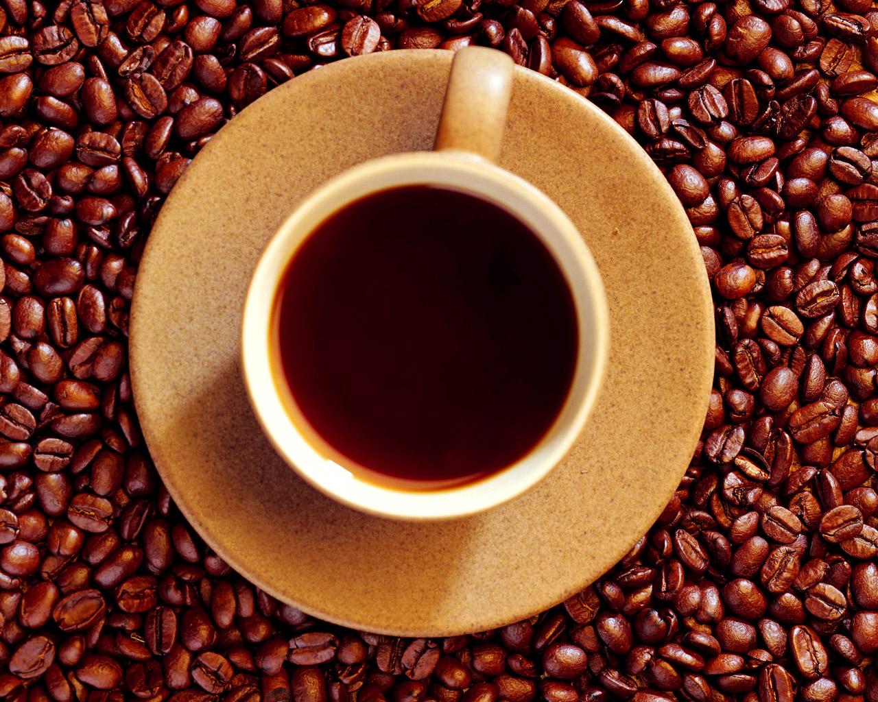 бесплатные обои для рабочего стола / чашка кофе