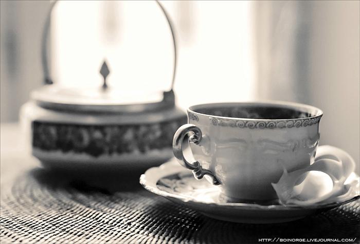 старинная кофейная чашка / Осло, Норвегия