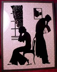 романтическое свидание / старинная открытка