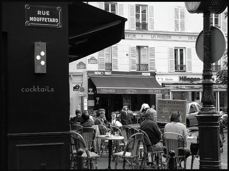 кафе рестораны Парижа / Рю Муффтар