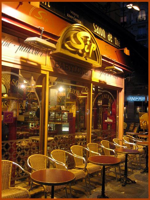 кафе Sip Париж