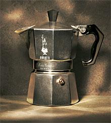 итальянская кофеварка Moka Express