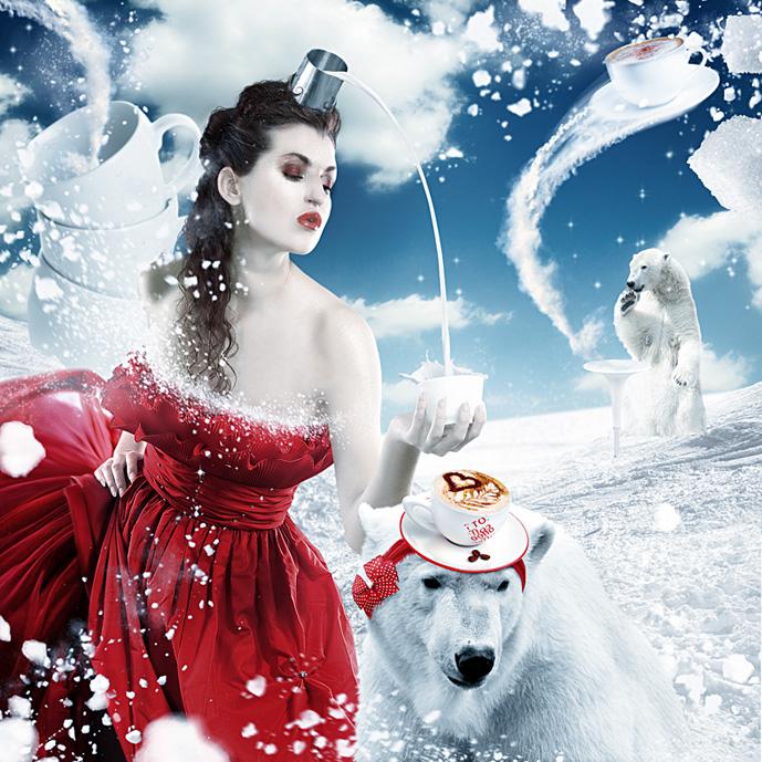 снежная королева кофе