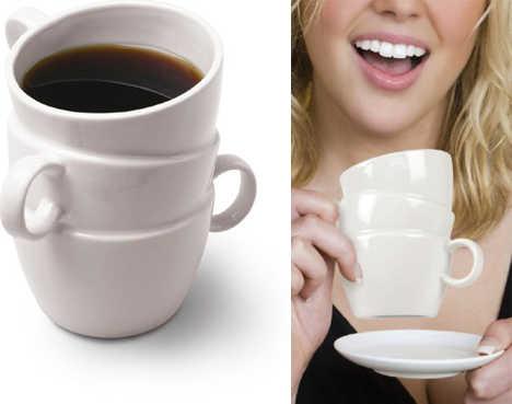 дизайнерская чашка для тройного эспрессо