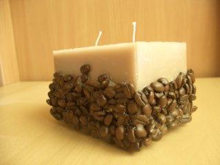 кофейная свеча / свечи своими руками