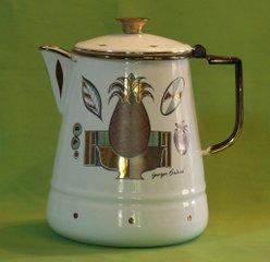 старинный кофейник / музейный экспонат