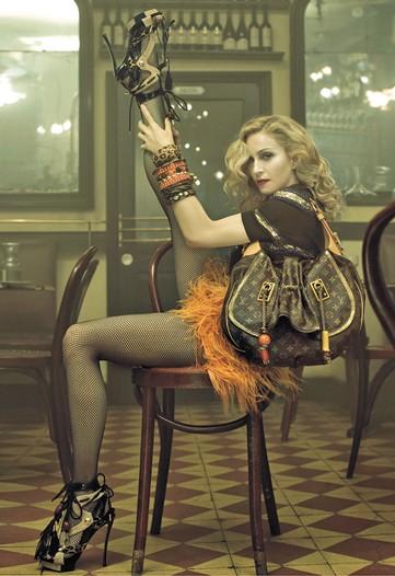 Мадонна (Madonna) лицо марки Louis Vuitton