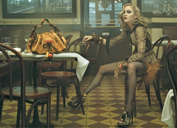 Мадонна (Madonna) - лицо марки Louis Vuitton
