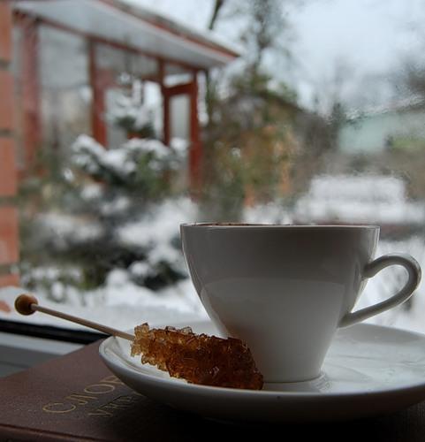зимний кофе