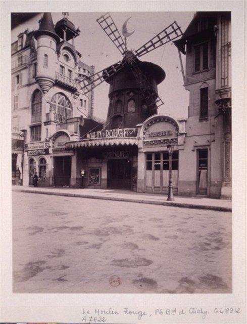 Moulin Rouge / старинная открытка, 1912