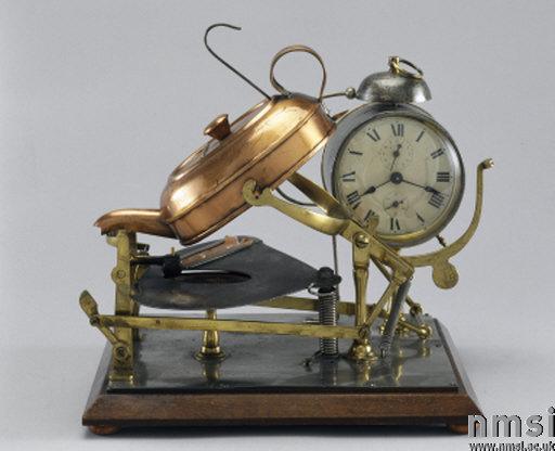первый автоматический чайник, 1902 год