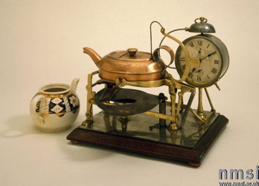 первый чайный автомат, 1902 год