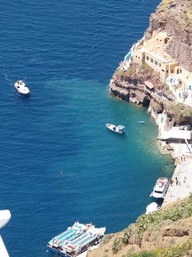 остров Санторини, Греция / фотограф композитор Александр Шульгин