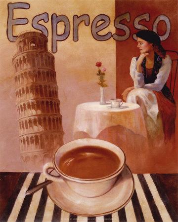 эспрессо постер