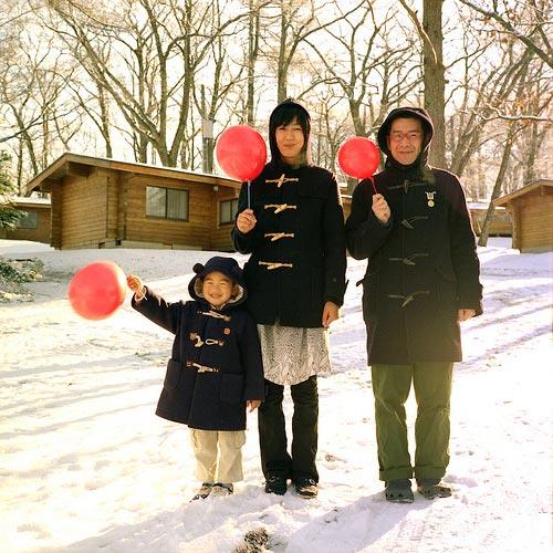семья Акихиро Фурута