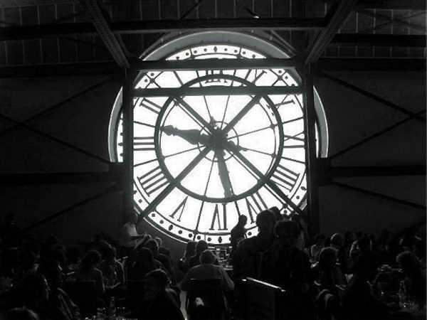 Буфет в музее Орсэ Парижа
