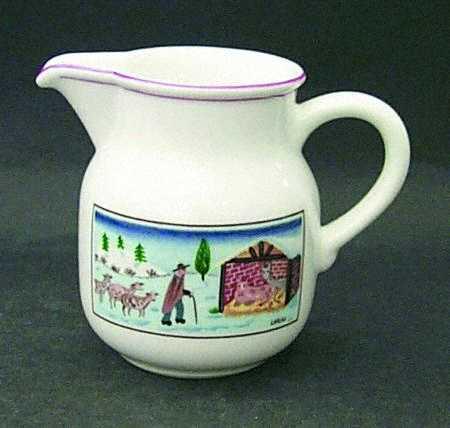 молочник для рождественского кофе